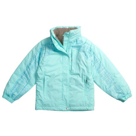 White Sierra Betty Sue Jacket - Zip-Off Sleeve (For Girls)