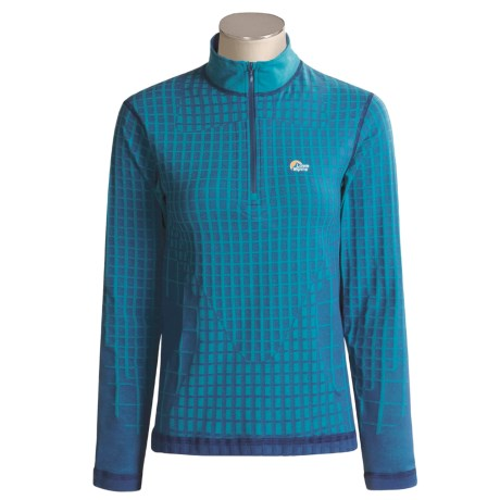 Lowe Alpine Warm Zone Thermal Shirt - Base Layer, Long Sleeve (For Women)
