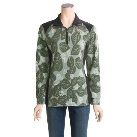 Lowe Alpine Fern Shirt - Aleutian® Fleece, Zip Neck, Long Sleeve (For Women)