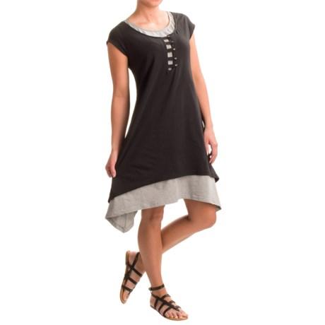 Neon Buddha Sonoma Dress - Stretch Cotton, Short Sleeve (For Women)