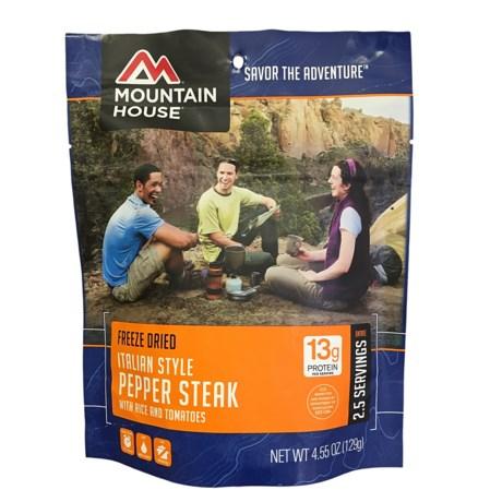 Mountain House Italian-Style Pepper Steak - 2 Servings