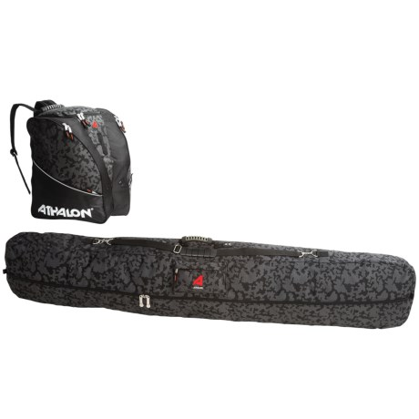 Athalon Snowboard and Boot Bag Set - 2-Piece
