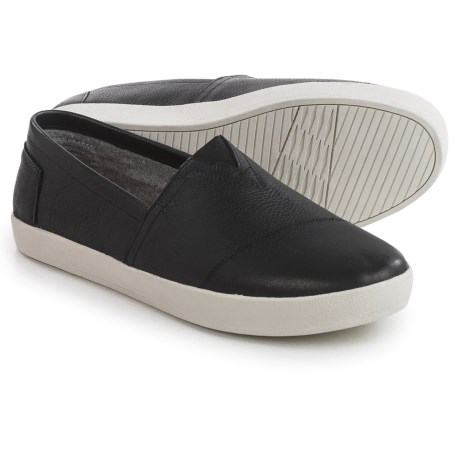 TOMS Avalon Leather Shoes - Slip-Ons (For Men)
