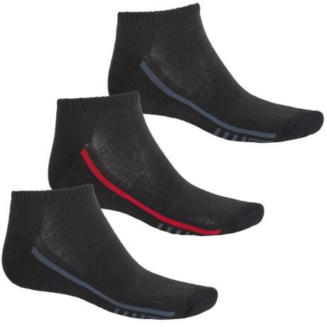 Fila Racing Stripes Socks - 3-Pack, Ankle (For Men)