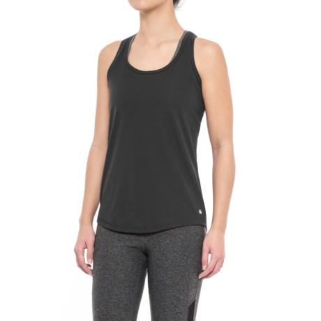 Yogalicious Racerback Tank Top - Mesh Insert (For Women)