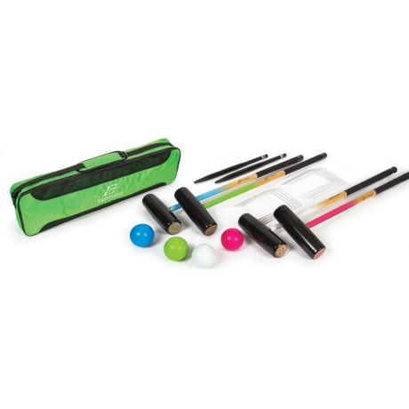 EastPoint Four-Player Croquet Set with Bag