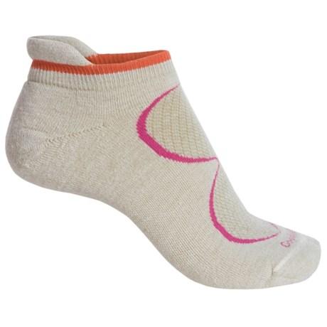 Goodhew Sedona Micro-Tab Socks - Lambswool-Alpaca Blend, Below the Ankle (For Women)