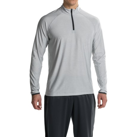 Soybu Continuum Shirt - Zip Neck, Long Sleeve (For Men)