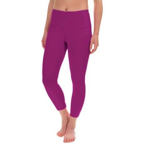 Yogalicious High-Waist Capris (For Women)