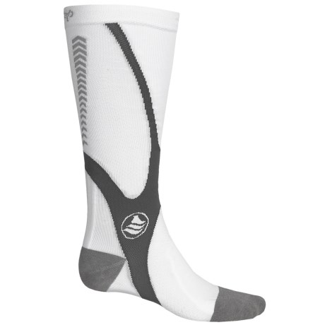 Powerstep Recovery Compression Socks - Over the Calf (For Men)