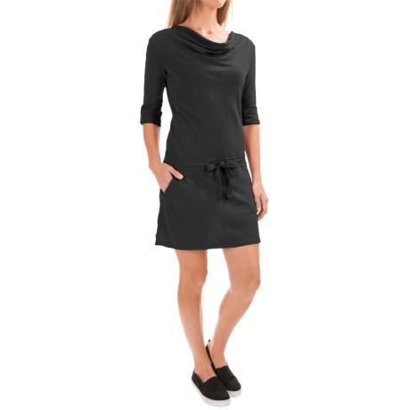 Gramicci Dharma Hemp-Organic Cotton Dress - UPF 20, Long Sleeve (For Women)