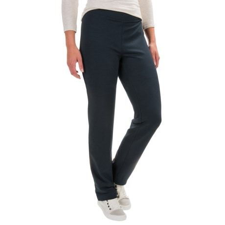Specially made Cotton-Blend Straight-Leg Pants (For Women)