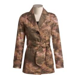 Think Tank Sunrise Trench Jacket - Tie Belt (For Women)