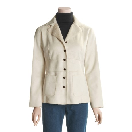 Two Star Dog Patricia Jacket - Faux Shearling (For Women)