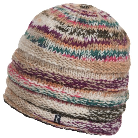 Sherpa Adventure Gear Rimjhim Wool Beanie - Fleece Lining (For Women)