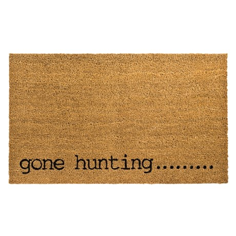 Madison Home Gone Hunting Coir Doormat - 18x30""