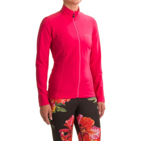 Gore Bike Wear Element Thermo Cycling Jersey - Full Zip, Long Sleeve (For Women)