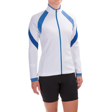 Gore Bike Wear Power 2.0 Thermo Cycling Jersey - Full Zip, Long Sleeve (For Women)