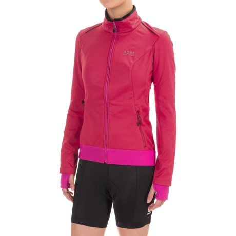 Gore Bike Wear Element Windstopper® Soft Shell Jacket (For Women)