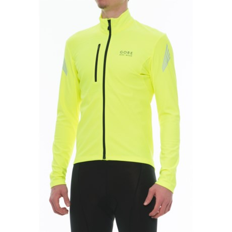 Gore Bike Wear Element Thermo Cycling Jersey - Full Zip, Long Sleeve (For Men)