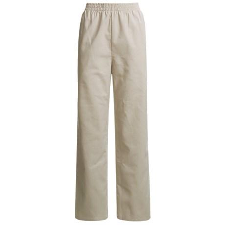 Vermont Country Store Corduroy Pants - Elastic Waist, Cotton-Rich (For Women)