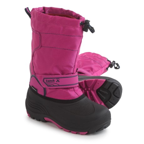 Kamik Snowcoast Pac Boots - Waterproof, Insulated (For Little and Big Kids)