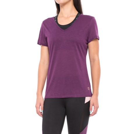 Balance Collection Kristy Shirt - Semi-Sheer Back, Short Sleeve (For Women)