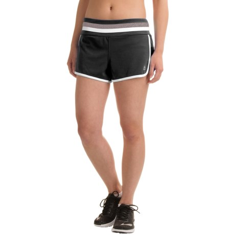 RBX Running Shorts - Built-In Briefs (For Women)