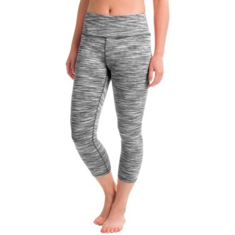 RBX Space-Dye Yoga Capri Leggings (For Women)
