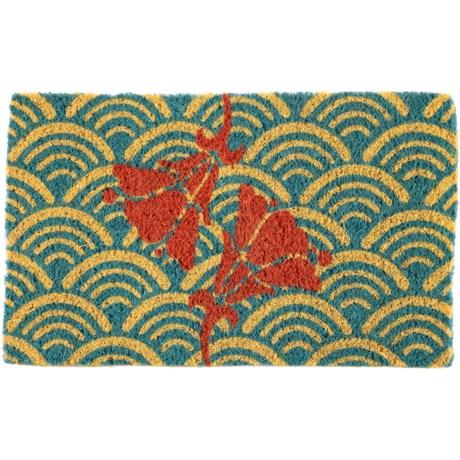 """Entryways Handwoven Coir Doormat - 18x30"""""""