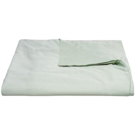 Coyuchi Organic Cotton Sateen Duvet Cover - Twin