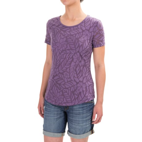 North River Burnout Shirt - Short Sleeve (For Women)