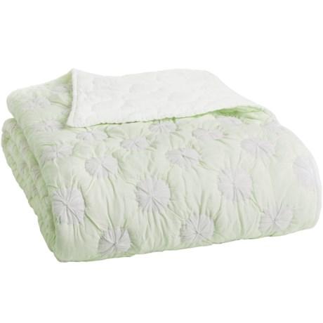Coyuchi Dewdrop Quilt - Organic Cotton, Twin