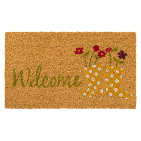 """Home and More Spring Coir Doormat - 17x29"""""""
