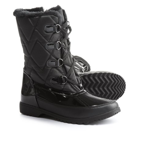 totes Quilted Lace-Up Pac Boots - Waterproof, Insulated (For Women)