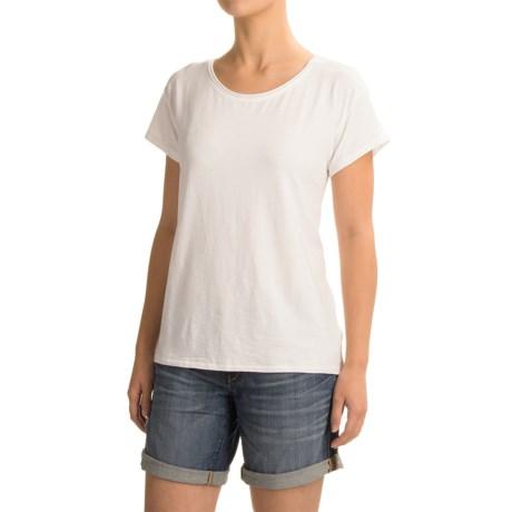 Artisan NY Raw-Edge T-Shirt - Short Sleeve (For Women)