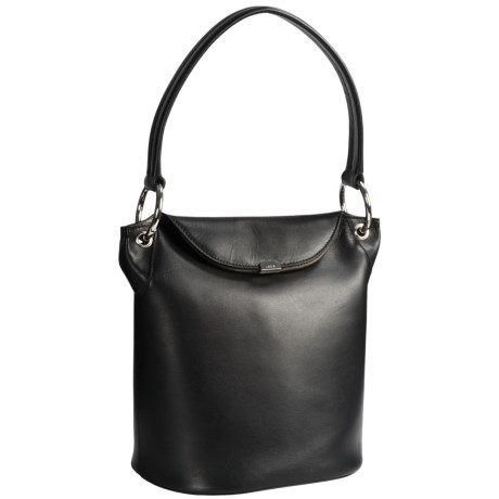 Lodis Lainy Convertible Bucket Bag - Italian Leather