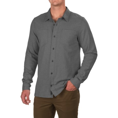 Toad&Co Flannagan Solid Shirt - Organic Cotton, Long Sleeve (For Men)