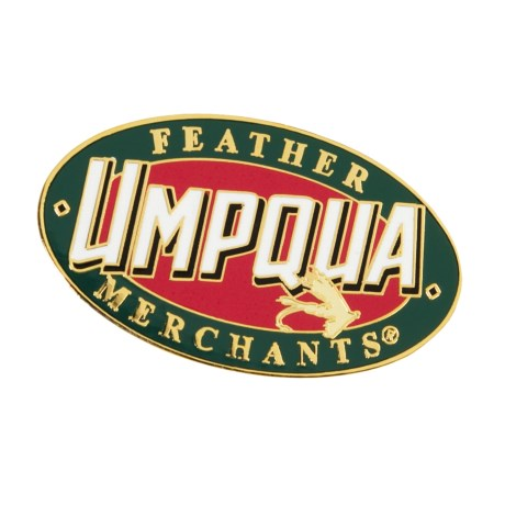Umpqua Feather Merchants Logo Pin
