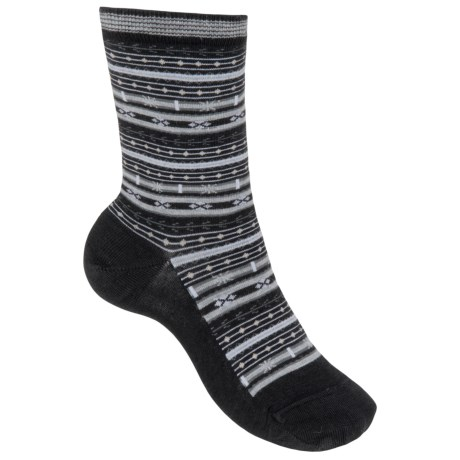 SmartWool Mini Fairisle Casual Socks - Merino Wool, Lightweight (For Women)