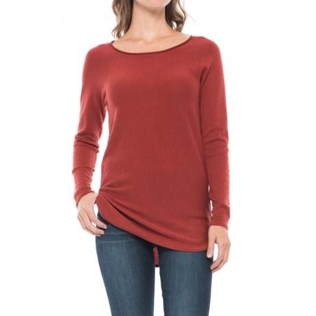 Max Studio Cashfeel Tunic Shirt - Merino Wool, Long Sleeve (For Women)