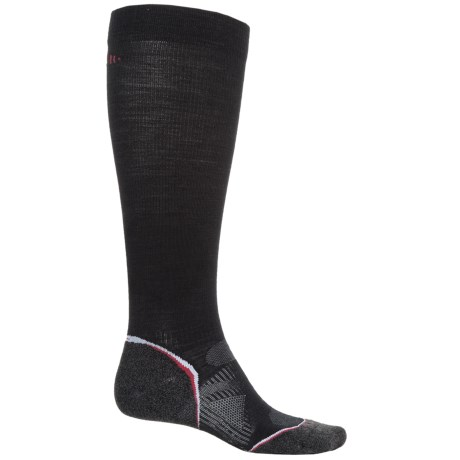 SmartWool PhD Ski Graduated Compression Light Socks - Over the Calf (For Men and Women)