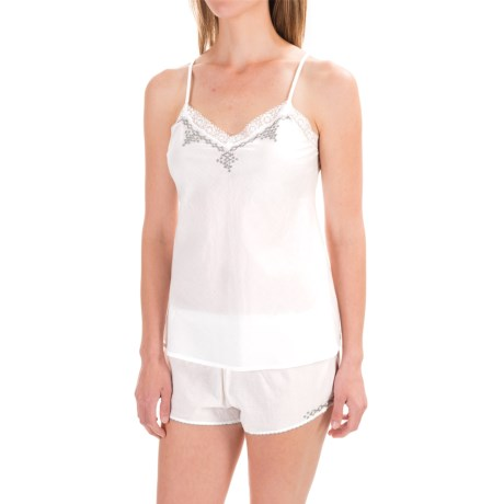 Naked Cotton Voile Camisole (For Women)