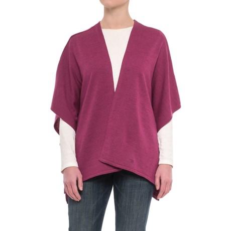Ivanhoe of Sweden GY Ulva Open Poncho - Merino Wool (For Women)