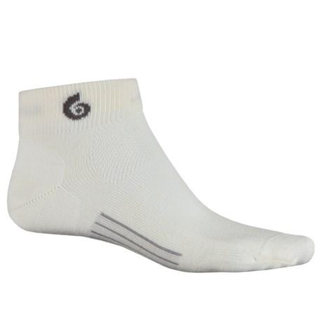 Point6 Ultralight Running Socks - Merino Wool, Quarter Crew (For Men)