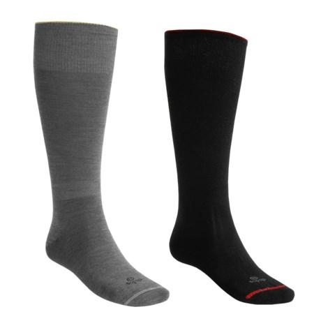 Lorpen Alpine Performance Fit Ski Socks - Merino Wool, Lightweight, 2 Pack (For Men and Women)