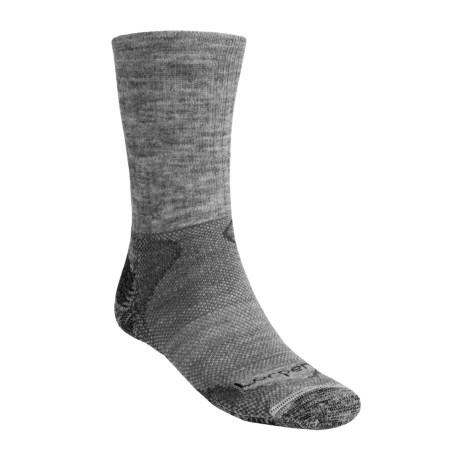 Lorpen Light-Midweight Hiking Socks - Italian Merino Wool, 2 Pack (For Men and Women)