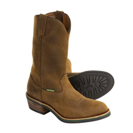 Most Comfortable Work Boots John Deere Wellington Boots