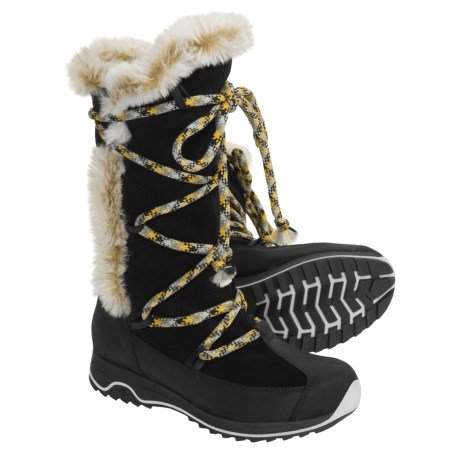 Tecnica Karin Leather TCY Boots - Waterproof Insulated, Faux Fur (For Women)