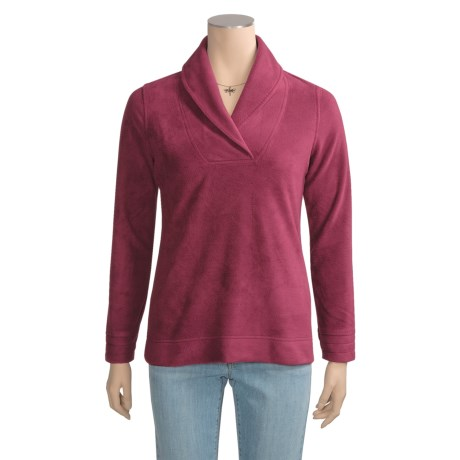 Aventura Clothing Mesena Shirt - Pullover, Recycled Fleece (For Women)